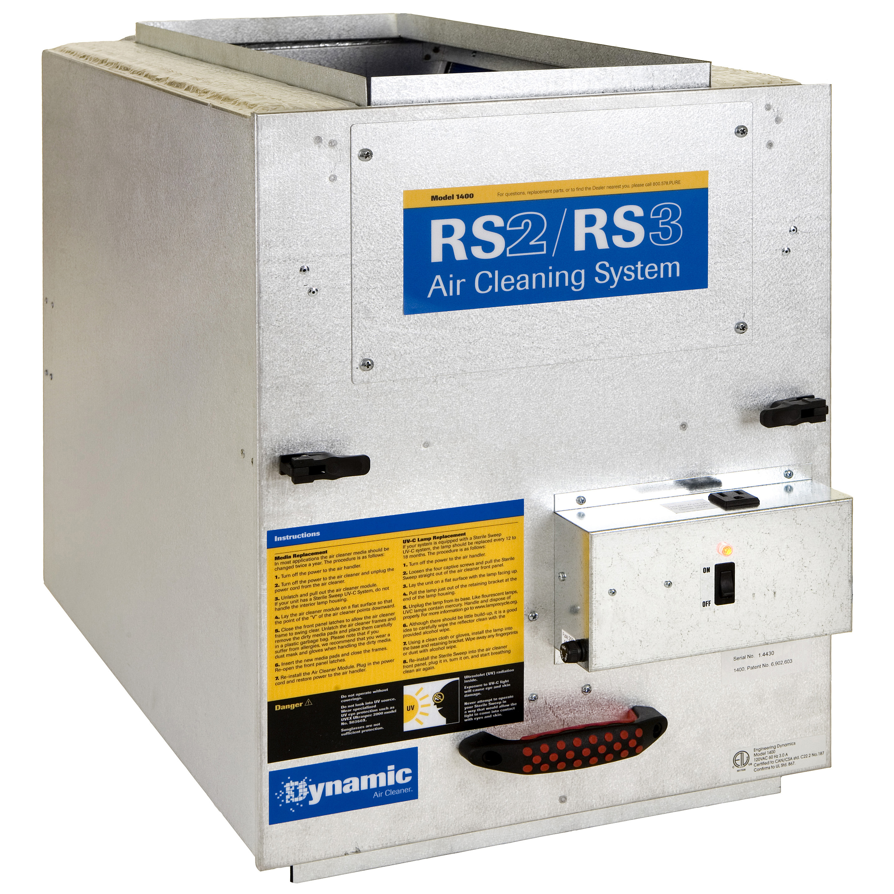 Dynamic RS2-2000C Air Purification System